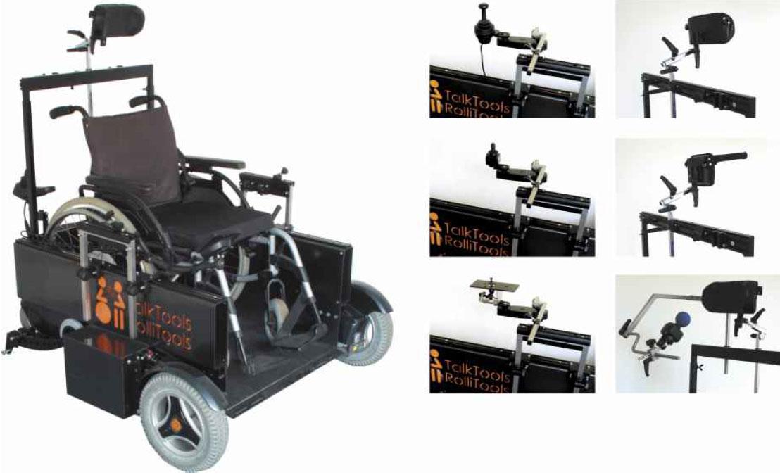 E-Rollstuhl Simulator
